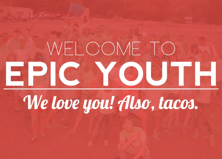 Welcome To Epic Youth New 2015 Funny Tacos